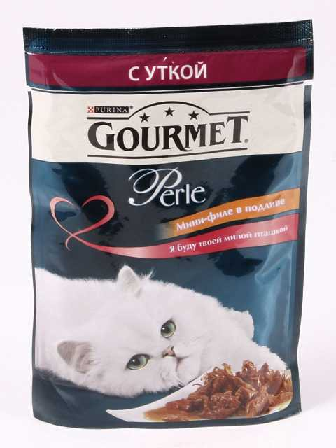 Gourmet (Гурме) Perle Mini Fillets - Мини Филе с Уткой