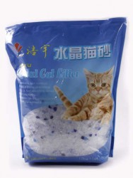 Crystal Cat Litter - Наполнитель Силикагелевый кошачий 1.8кг
