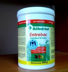 Entrobac Rohnfried - пробиотик для голубей, 600 гр.