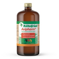 Avipharm Rohnfried - смесь витаминов, аминокислот, электролитов для голубей, 1 л.