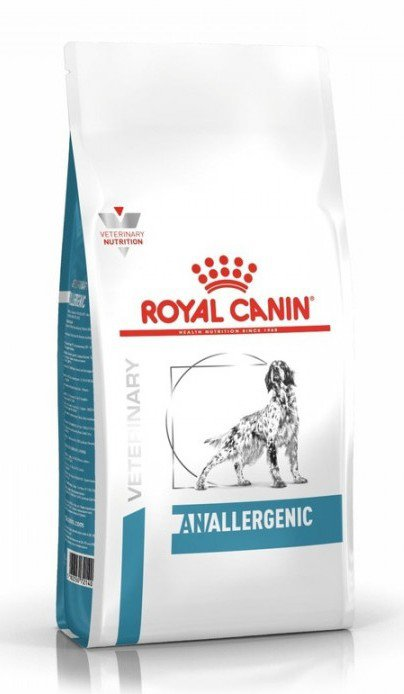 Royal Canin (Роял Канин) Anallergenic - Корм для собак при пищевой Аллергии с гиперчувствительностью
