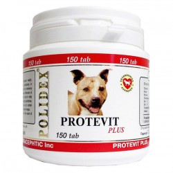 Polidex  Protevit plus 300 Tab (Полидэкс Протевит плюс) - Мультивитамины для собак