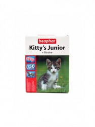 Beaphar (Беафар) Kittys Junior + Biotin 150 табл